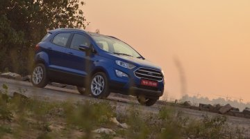 2020 Ford EcoSport Titanium with automatic transmission launched at INR 10.66 lakh
