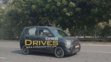 Next-gen Maruti Wagon R spied for the first time