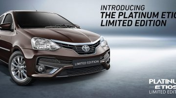 Toyota Platinum Etios Limited Edition launched
