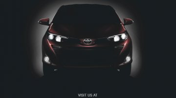 Toyota Vios (Toyota Yaris Ativ) teased ahead of Auto Expo 2018 debut [Update]