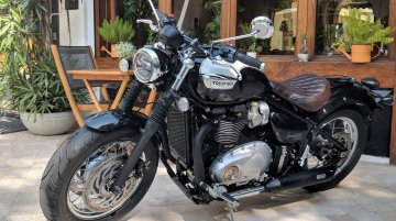 Triumph Bonneville Speedmaster launched in India