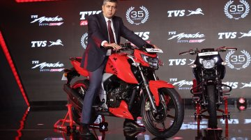 2018 TVS Apache RTR 160 4V launched at INR 81,490