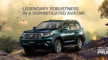 2018 Toyota Land Cruiser Prado launched, priced at INR 92.6 lakh