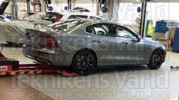 Next-gen 2018 Volvo S60 exterior leaked
