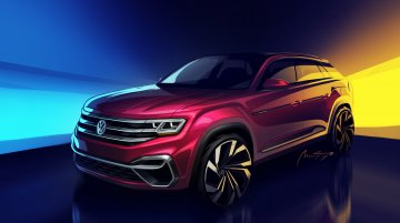 5-seat VW Atlas concept teased, to debut at NYIAS 2018
