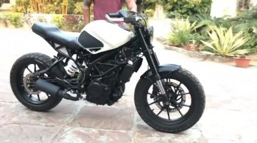 KTM 390 Duke 'Badmaash' by Rajputana Customs