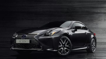 Lexus RC 300h F Sport Black Edition to debut at 2018 Geneva Motor Show