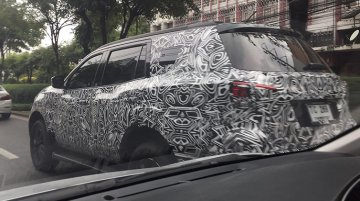 Nissan Terra (Toyota Fortuner challenger) continues testing in Thailand