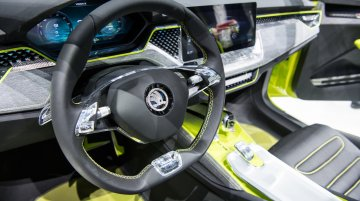 Skoda small SUV (production-spec Vision X) interior details revealed - Report