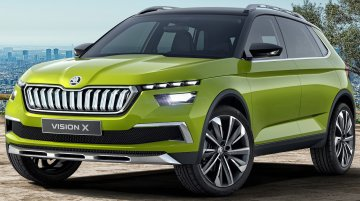 Skoda Vision X concept's production version to lead locally manufactured MQB range in India - Report