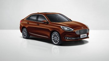 2018 Ford Escort (facelift) unveiled in China