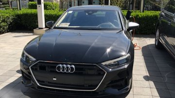 Audi A7 Sportback e-tron plug-in hybrid spied completely undisguised in China