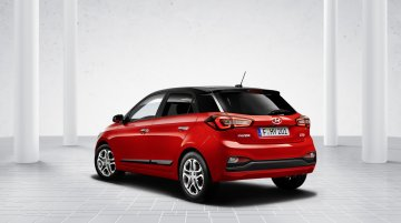 Euro-spec 2018 Hyundai i20 (facelift) with DCT & stop-start tech revealed