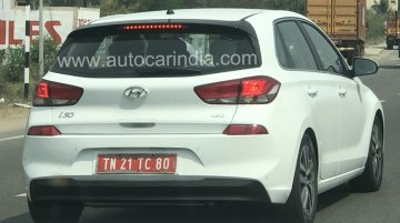 Third-gen Hyundai i30 shows up on Indian roads once again