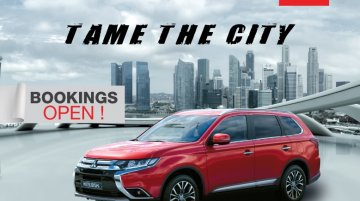 Mitsubishi Outlander pre-bookings in India officially open now