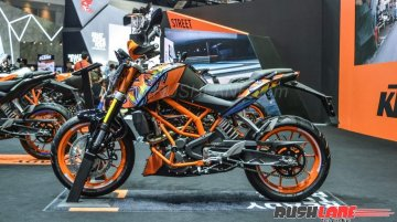 KTM 250 Duke special edition launched in Thailand