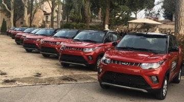 Mahindra KUV100 launched in Italy