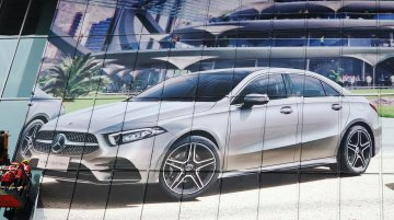Mercedes A-Class Sedan leaked ahead of world debut next week