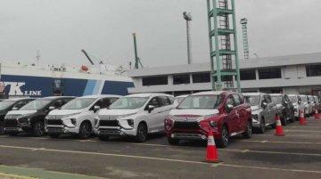 Mitsubishi Xpander's mass exports commence
