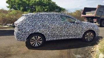 SAIC Motor's Roewe E RX5 electric SUV spied in India for the first time