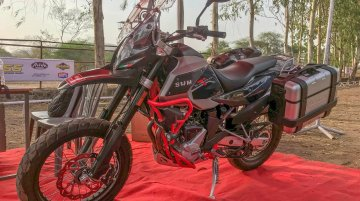 SWM SuperDual T showcased in India
