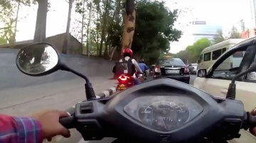 TVS Apache RR 310 rental bike spotted [video]