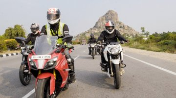 TVS Motor Company concludes first Apache owner's group south chapter