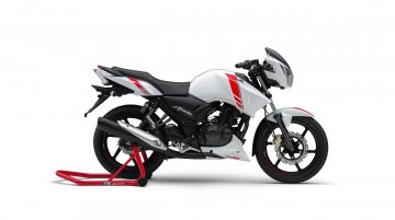 TVS Apache RTR 160 ABS launched at INR 84,710 - Report