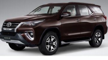 Toyota SW4 Diamond (Toyota Fortuner Diamond) launched in Argentina