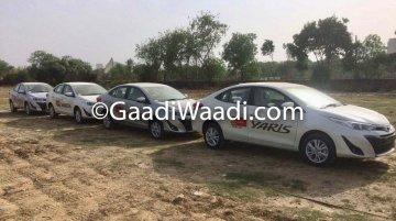 Toyota Yaris demo cars start reaching dealerships in India