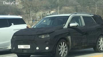 Next-gen SsangYong Korando (SsangYong C300) spied in production body