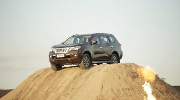 7-seat Nissan Terra (Toyota Fortuner rival) - In 14 Live Images