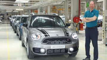 BMW commences local assembly of MINI Countryman in India