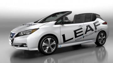 Nissan Leaf Open Car unveiled to celebrate 1,00,000 Nissan Leaf sales in Japan