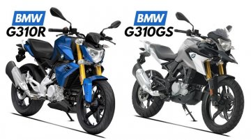 BMW G 310 R & G 310 GS recalled in the USA ahead of Indian launch