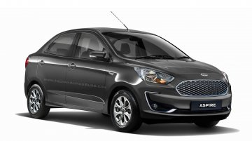 2018 Ford Aspire (facelift) to launch on October 4