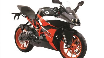KTM RC200 ABS launched in India at INR 1.88 lakh