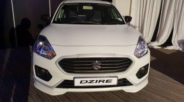 Suzuki Dzire (Maruti Dzire) with body kit showcased