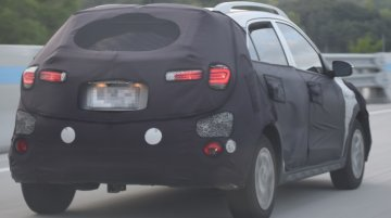 2018 Hyundai i20 Active (facelift) spied in South Korea