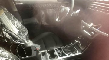 Next-gen SsangYong Korando (SsangYong C300)'s interior partially revealed