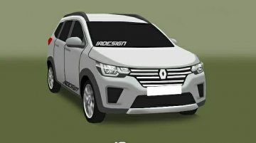 Renault RBC (7-seat Maruti Wagon R challenger) by IA Design - Rendering