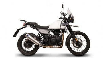 Royal Enfield Himalayan gets performance racing exhaust from Termignoni