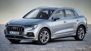 Next-gen 2018 Audi Q3 rendered in production guise