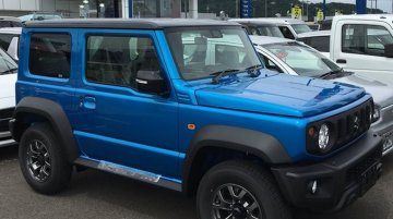 New photos of the 'global' Suzuki Jimny Sierra from dealerships