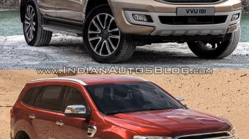 2019 Ford Everest vs. 2015 Ford Everest (Ford Endeavour) - Old vs. New