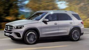 Next-gen 2019 Mercedes GLE - IAB Rendering