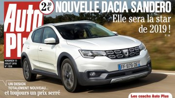 CMF-B-based next-gen Dacia Sandero with sleek new design rendered