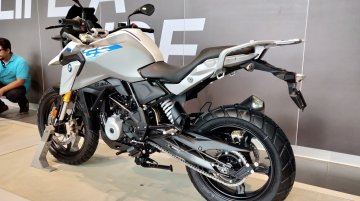 BMW G 310 GS aftermarket accessories with prices revealed
