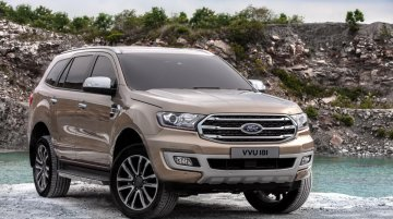 Facelifted Ford Everest (2019 Ford Endeavour) launched in Thailand