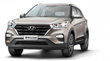 Hyundai Creta 1 Million edition launched in Brazil